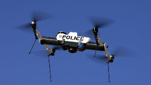According to the GIS, drones will be used to patrol borders. File photo