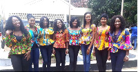 File photo; The remaining 8 Ghana Most Beautiful contestants
