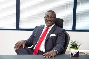 Managing Director of CBG, Daniel Wilson Addo
