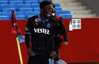 Trabzonspor forward Caleb Ekuban