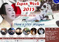Japanese Embassy to begin Japan Week  2015