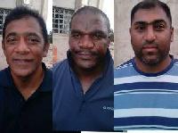 The 3 arrested SA ex-cops