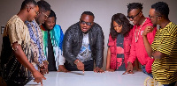 Kaywa's Highly Spiritual Music record label is based in Tema