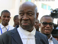 Thaddeus Sory, the Counsel for Mr Eugene Baffoe-Bonnie, former Board Chairman of NCA