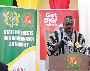 Managing Director of State Interest and Governance Authority, Stephen Asamoah Boateng