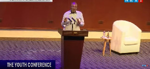 Mr Kennedy Agyapong was the main Speaker at the Youth Conference with Kennedy Agyapong