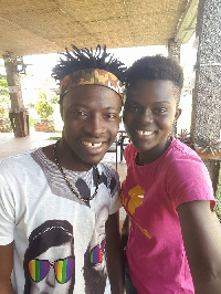 Wiyaala and Fancy Gadam