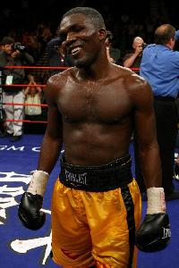 Boxer Ben Tackie
