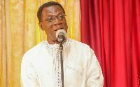 Member of the ruling NPP, Prof. Ameyaw Akumfi
