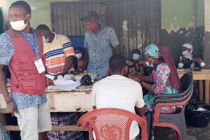 Voters registration exercise. File photo