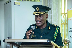 Kwame Asuah Takyi is the Comptroller-General of Immigration