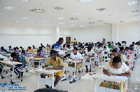 Over 1000 students took part in the exam