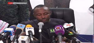 John Boadu is General Secretary of the New Patriotic Party