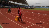 Some students had to race barefooted at this year's inter-regional SHS sports festival