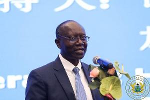 Ken Ofori-Atta, former Finance Minister