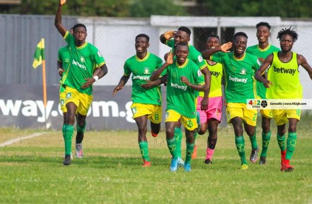Aduana Stars pip AshantiGold 1-0 to move closer to top 4 spot