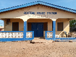 The state of the Akateng police station