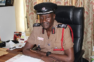 Edwin Ekow Blankson, Chief Fire Officer of the GNFS