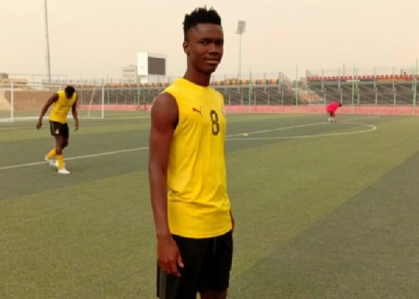 GFA provides update on Sampson Agyepong after player went unconscious in Morocco game