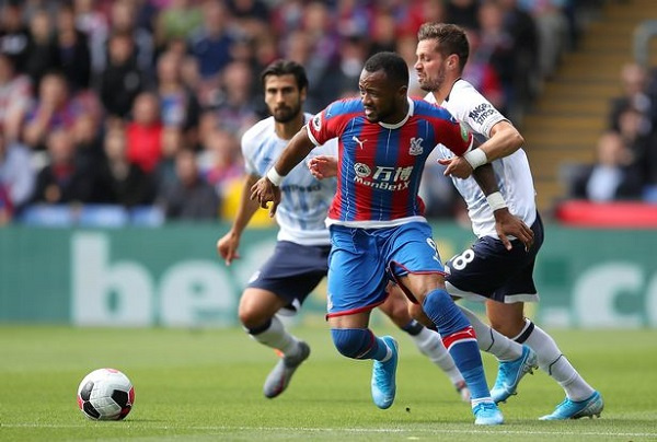Ayew lasted 68 minutes in the game