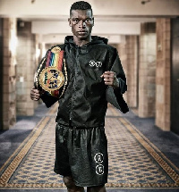 Richard Commey is set to contend for the WBC and IBF titles