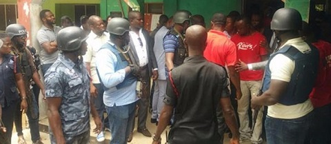 DCOP Opare Addo was allegedly attacked in his office
