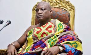 Togbe Afede XIV, the Agbogbomefia of Asogli State