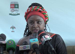 National Women Organizer of the National Democratic Congress (NDC), Hannah Bissiw