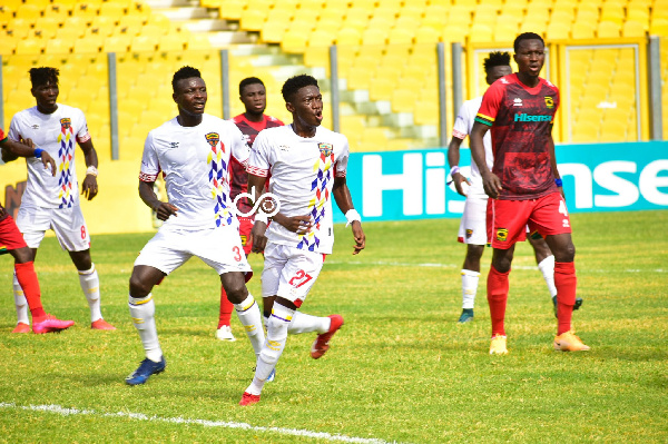 Asante Kotoko board unhappy with player's performance in draw against Hearts of Oak