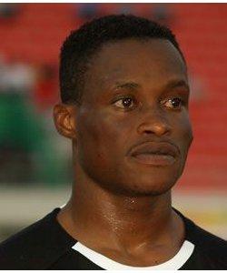 Goalkeeper Sammy Adjei