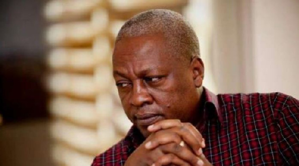 Former President John Mahama criticized the Free SHS policy describing it as a 'rushed policy'