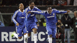 Mikel, Chelsea and Essien won trophies with Chelsea