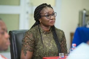 Spokesperson for former president John Dramani Mahama, Joyce Bawah Mogtari
