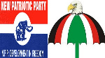 New Patriotic Party and National Democratic Congress symbols