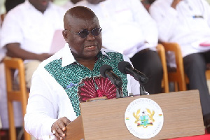 President Akufo Addo Speaking At The May Day Celebration