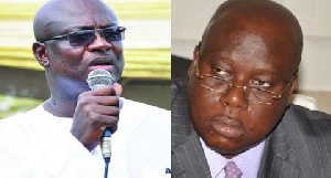 Former Kumasi Mayor Kojo Bonsu and Joseph Ade Coker