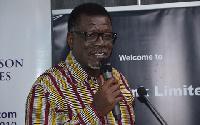 General Overseer of ICGC, Dr Mensa Otabil