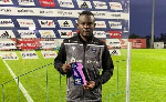 Paul Ayongo named Man of the Match in Portugal
