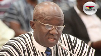 Kofi Adda, Minister for Sanitation and Water Resources