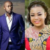 Actress Vicky Zugah and Pascal Aka