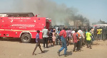 Fire guts Korle-Bu ICU, coronavirus patients transferred to UG Medical Centre