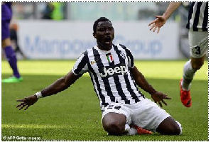Kwadwo Asamoah Juventus Milan