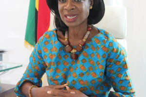 Mrs Kate Quartey-Papafio, Sector Chairperson AGI