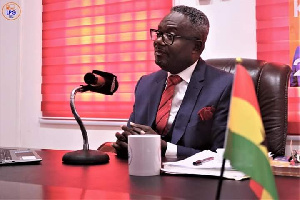 Founder and Leader of the Liberal Party of Ghana, Kofi Akpaloo