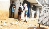 Opambour Agya Badu Nkansah being escorted to court