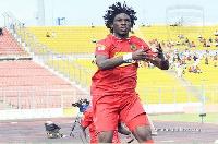 Yacouba  scored a stunning freekick against Nkana