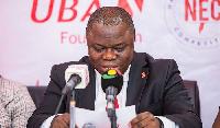 Isong Udom, MD/CEO of UBA Ghana