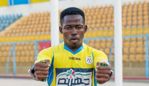 Ghana international Torric Jibril