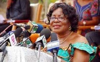 Ama Benyiwa Doe, former Central Regional Minister