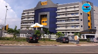 A photo of the well equipped Bank of Ghana hospital